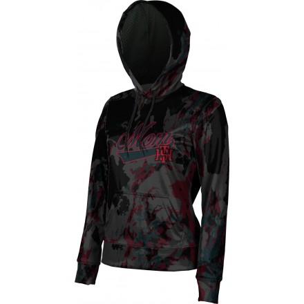 ProSphere Women's Tillers Baseball Marble Hoodie Sweatshirt