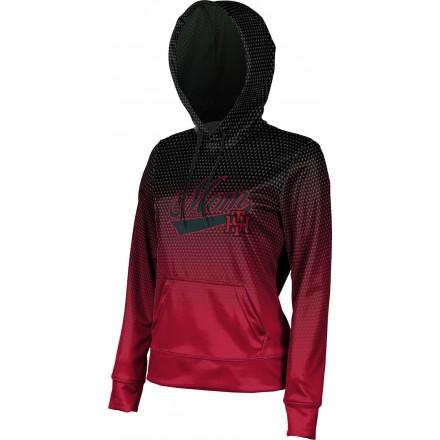ProSphere Women's Tillers Baseball Zoom Hoodie Sweatshirt
