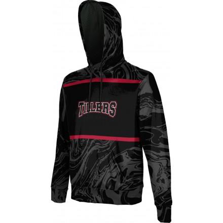 ProSphere Men's Tillers Baseball Ripple Hoodie Sweatshirt