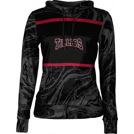 ProSphere Girls' Tillers Baseball Ripple Hoodie Sweatshirt
