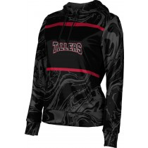 ProSphere Women's Tillers Baseball Ripple Hoodie Sweatshirt