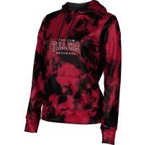 ProSphere Girls' Tillers Baseball Grunge Hoodie Sweatshirt